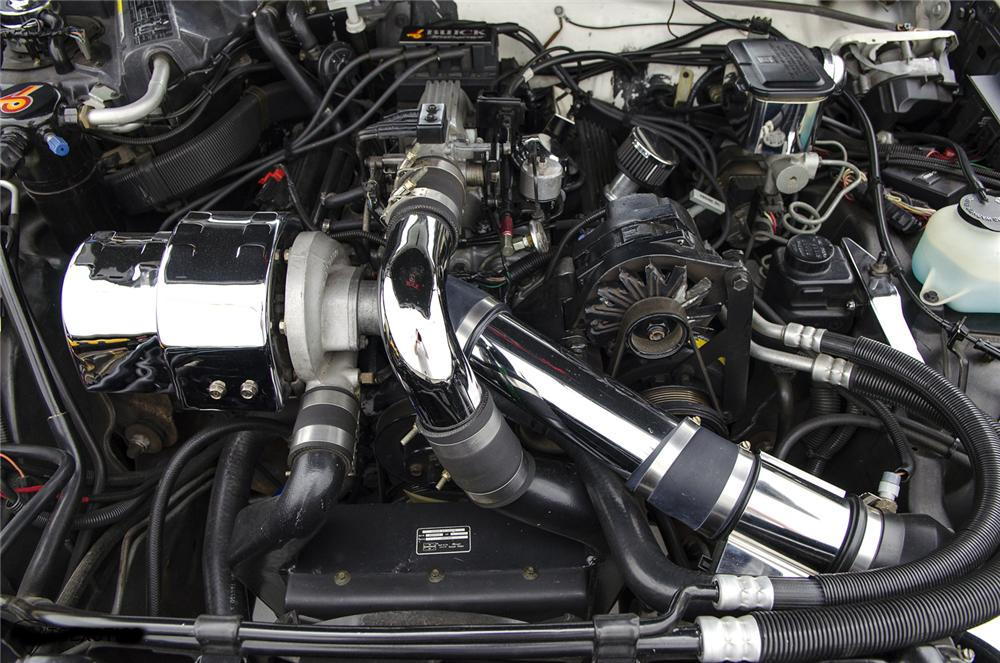 1987 BUICK REGAL TURBO T-TOP - Engine - 161426