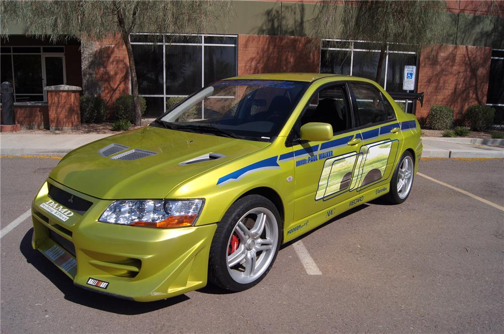 2001 MITSUBISHI EVO CUSTOM 4 DOOR 2 FAST FURIOUS