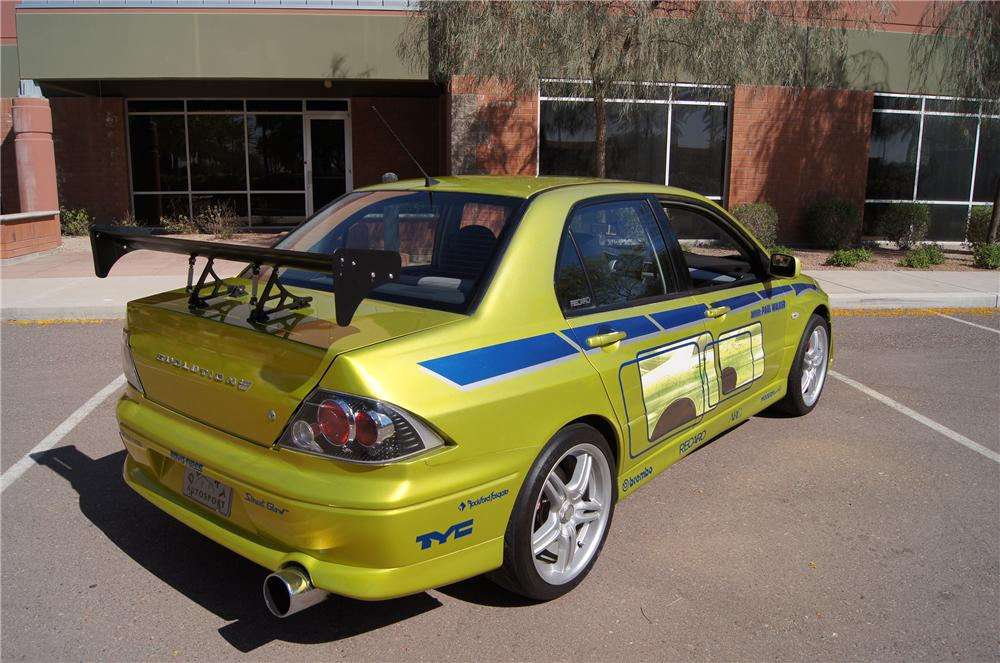 2001 mitsubishi evo custom 4 door '2 fast 2 furious' - 161427