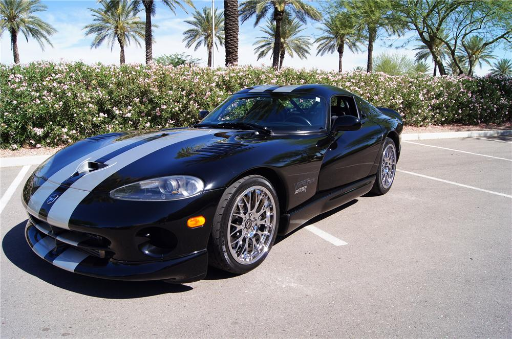 1999 DODGE VIPER ACR 2 DOOR COUPE - Front 3/4 - 161431