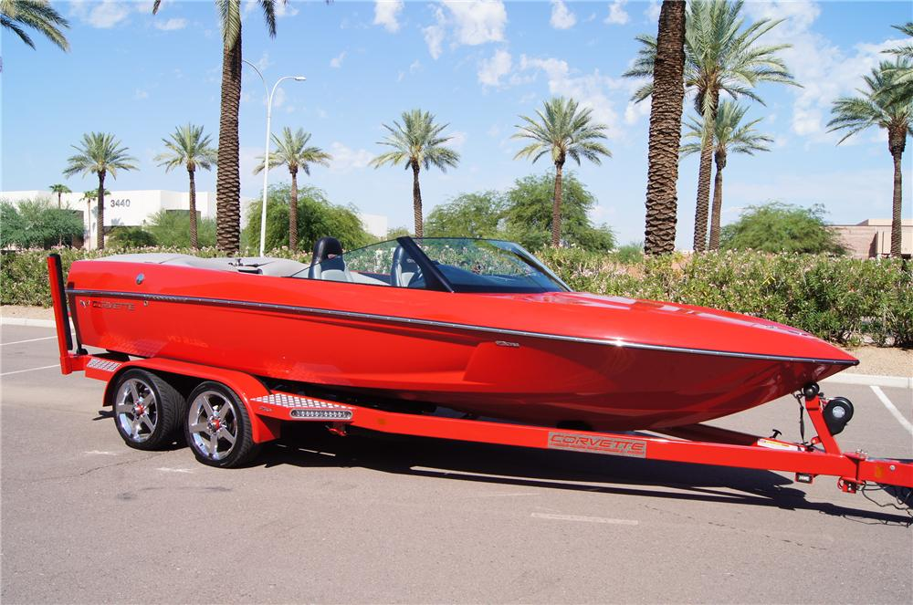2008 EXTREME BOAT TRAILER - Front 3/4 - 161436