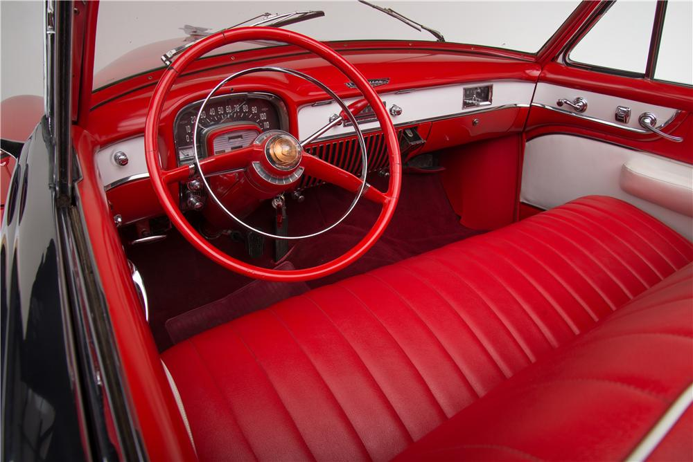 1951 CADILLAC SERIES 62 CONVERTIBLE - Interior - 161449