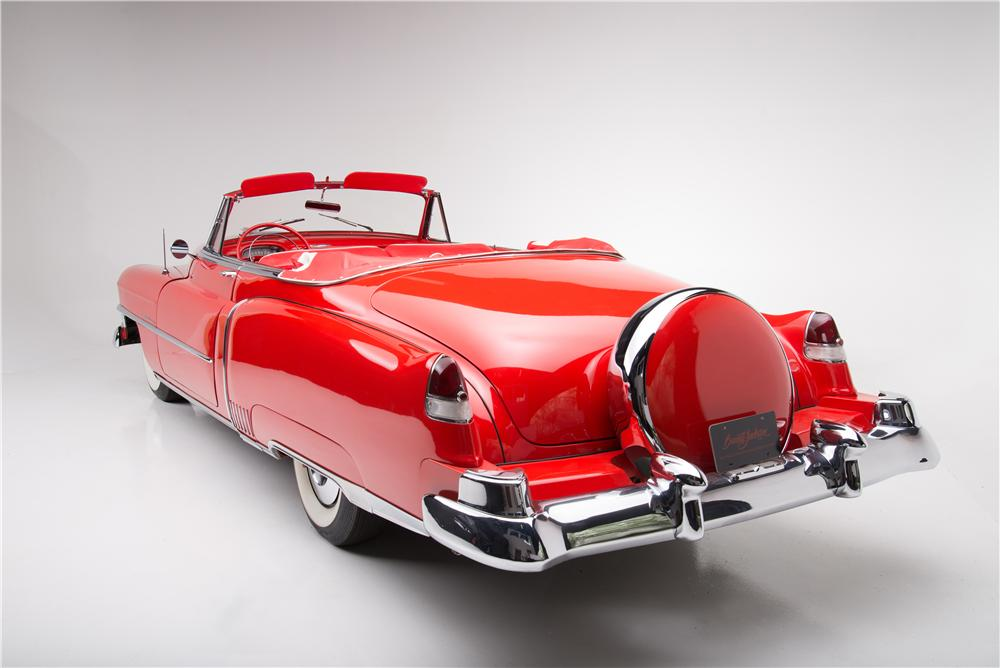 1951 CADILLAC SERIES 62 CONVERTIBLE - Rear 3/4 - 161449