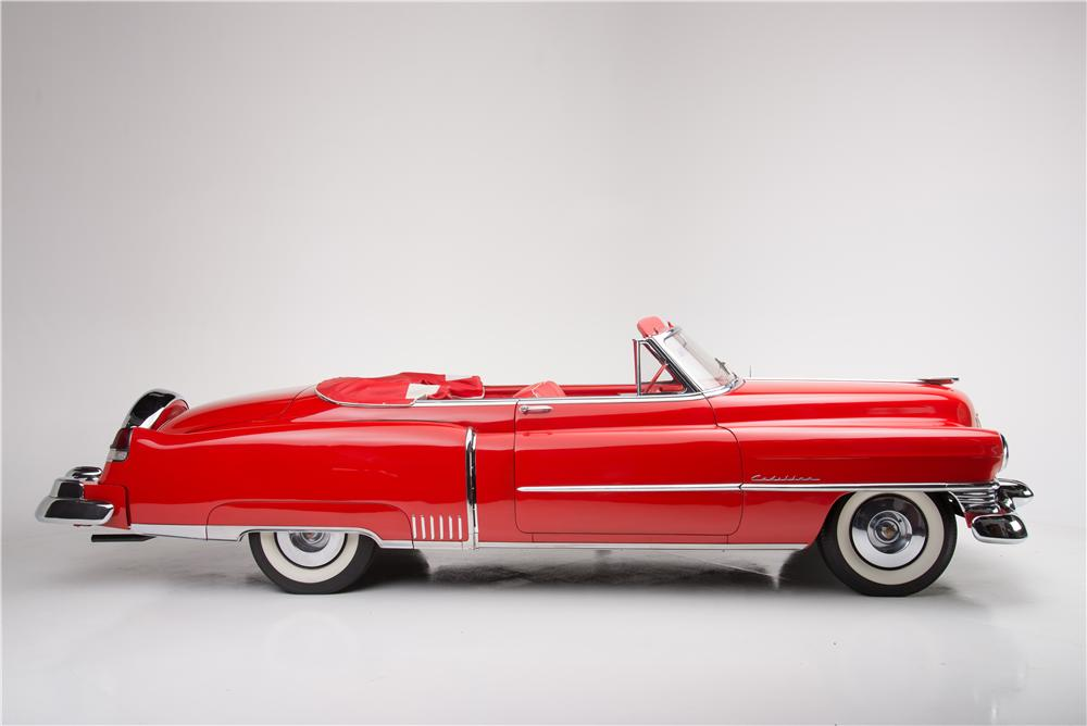 1951 CADILLAC SERIES 62 CONVERTIBLE - Side Profile - 161449