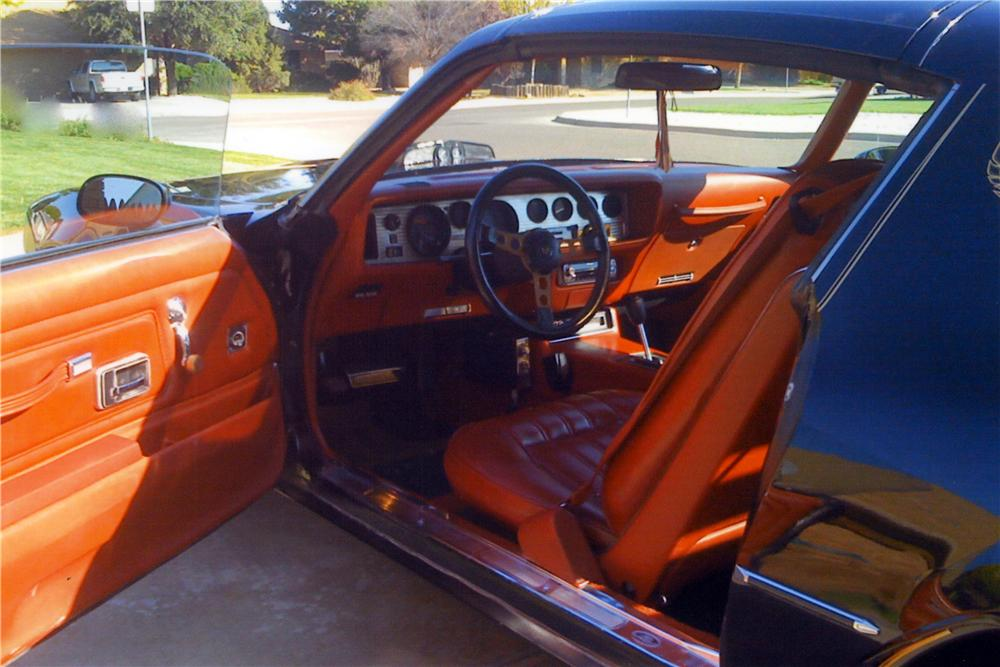 1977 PONTIAC FIREBIRD TRANS AM COUPE - Interior - 161454