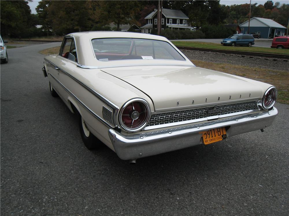 1963 ford galaxie 500 2 door hardtop 161459. Black Bedroom Furniture Sets. Home Design Ideas