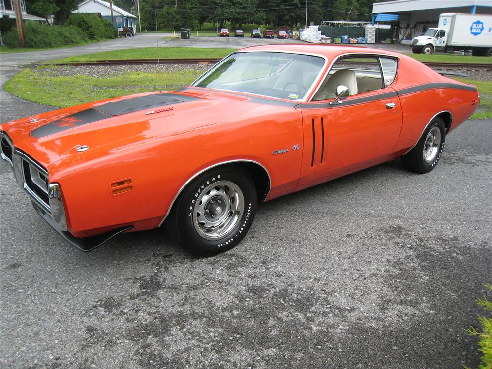 1971 DODGE CHARGER R/T COUPE - Front 3/4 - 161460