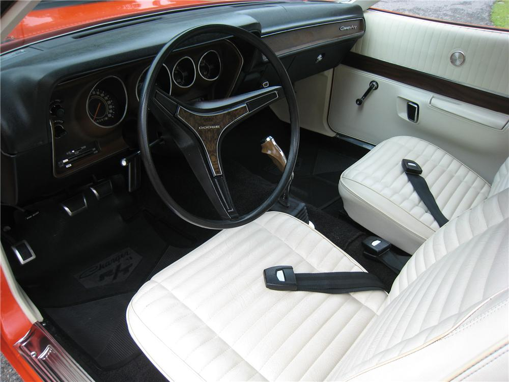 1971 DODGE CHARGER R/T COUPE - Interior - 161460