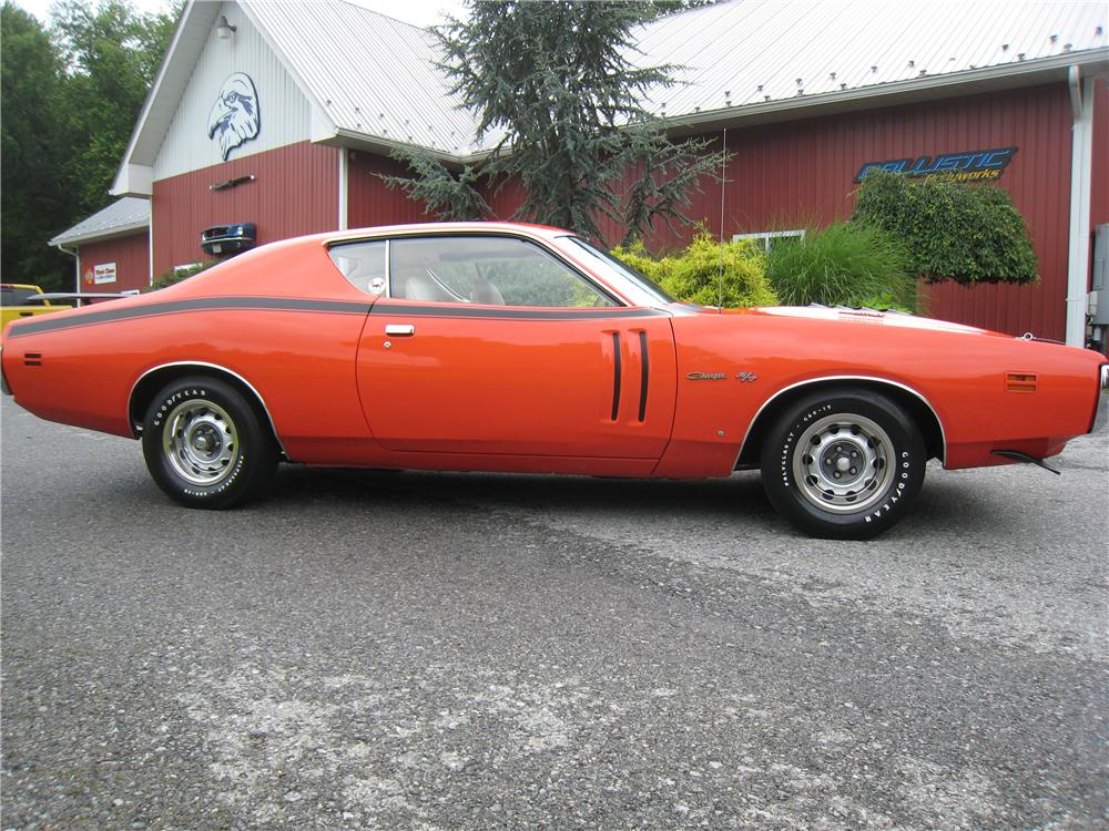 1971 DODGE CHARGER R/T COUPE - Side Profile - 161460