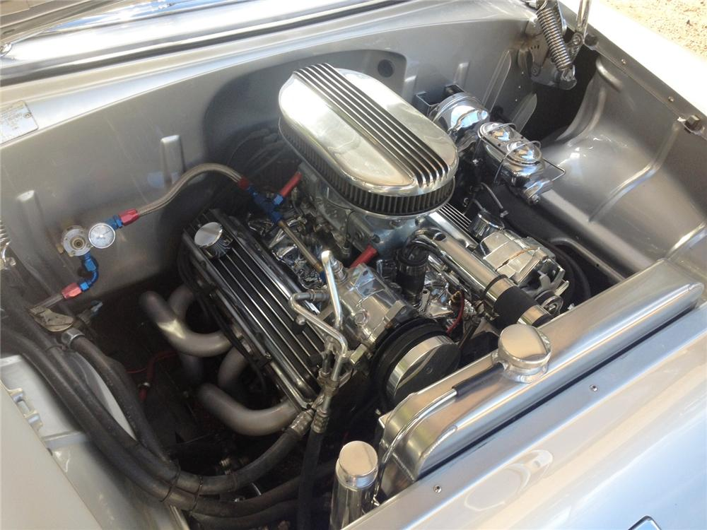 1955 CHEVROLET BEL AIR CUSTOM CONVERTIBLE - Engine - 161467