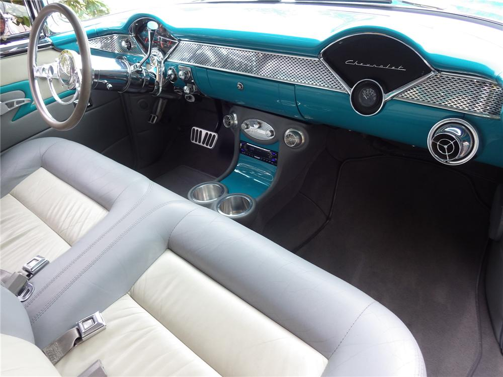 1956 CHEVROLET NOMAD CUSTOM WAGON - Interior - 161471