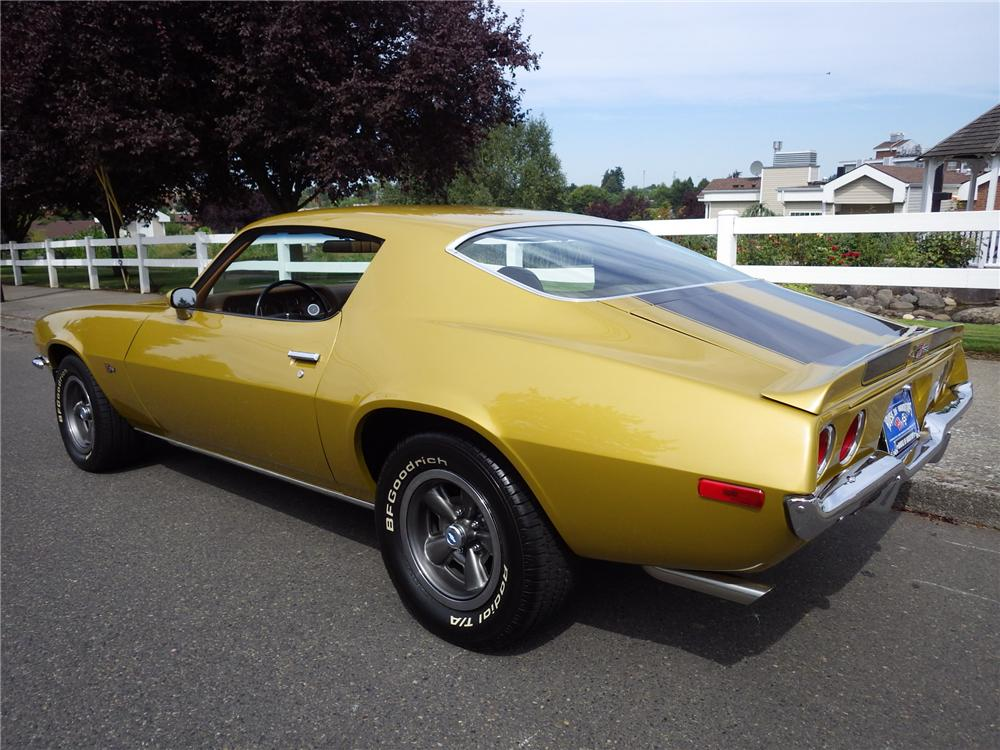 1971 CHEVROLET CAMARO Z/28 2 DOOR COUPE - Rear 3/4 - 161478