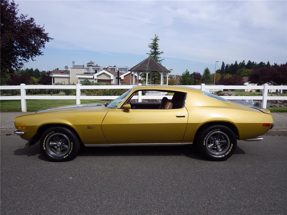 1971 CHEVROLET CAMARO Z/28 2 DOOR COUPE - Side Profile - 161478