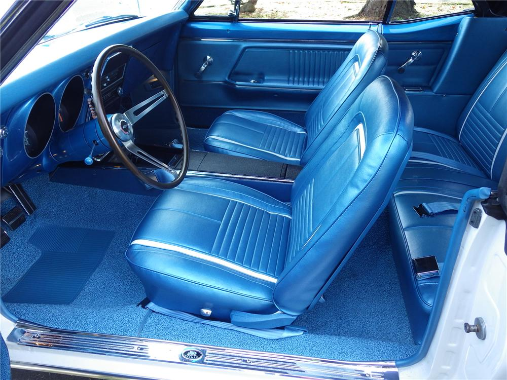 1967 CHEVROLET CAMARO RS INDY PACE CAR CONVERTIBLE - Interior - 161480