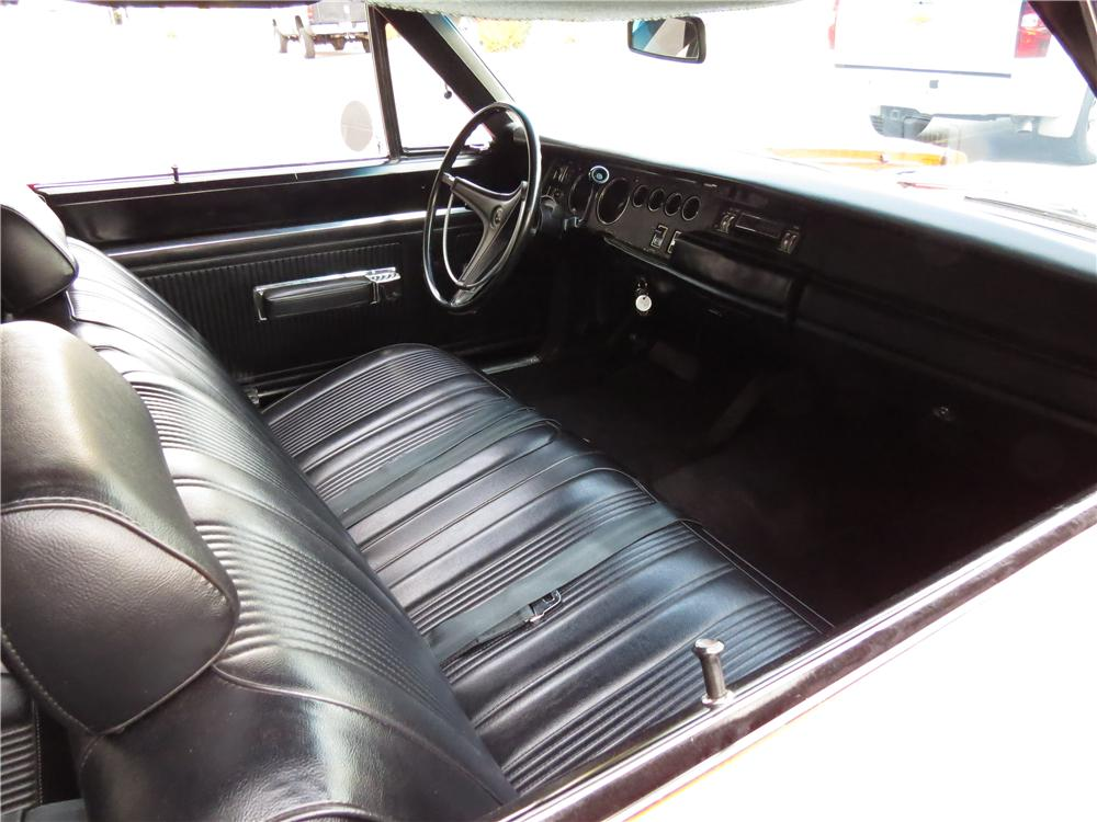 1969 DODGE SUPER BEE 2 DOOR HARDTOP - Interior - 161482