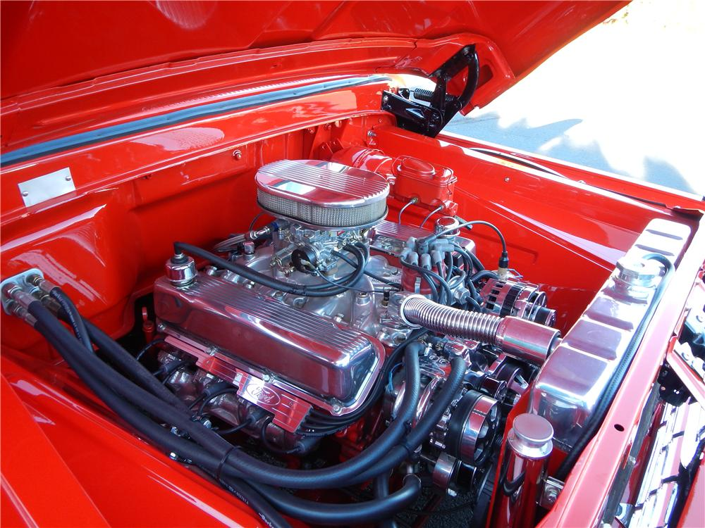 1966 FORD F-100 CUSTOM PICKUP - Engine - 161484