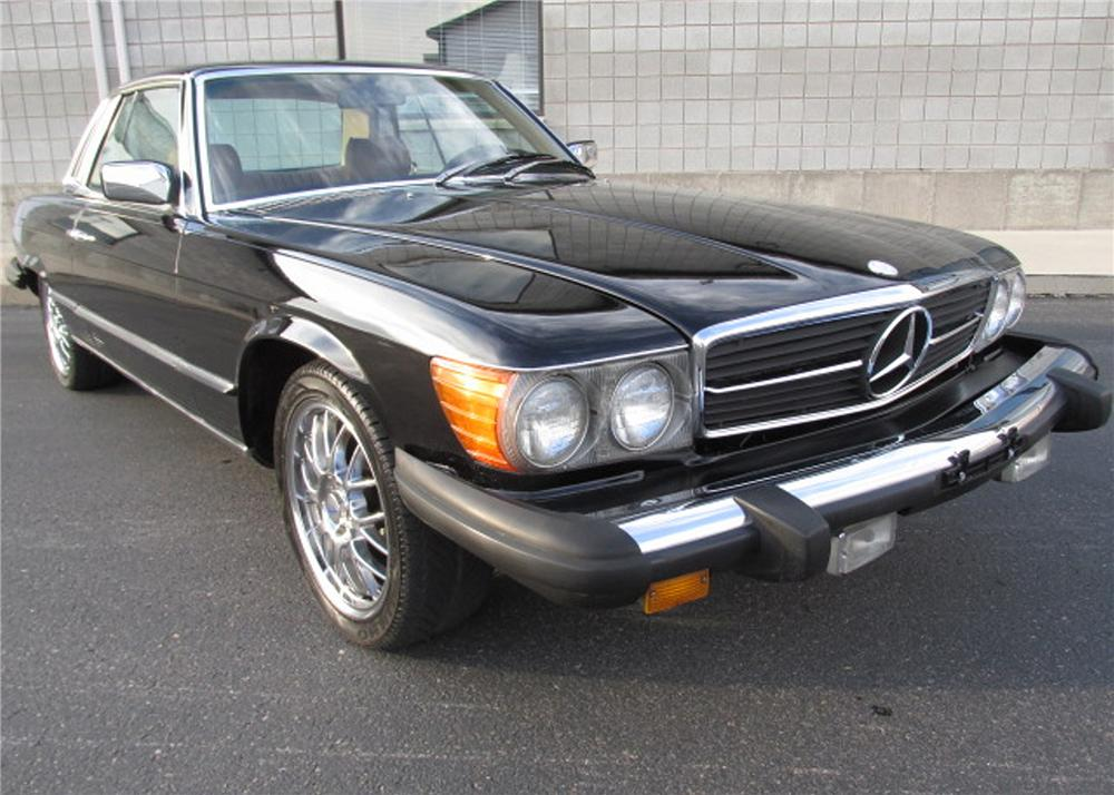 1980 mercedes benz 450slc 2 door hardtop 161485