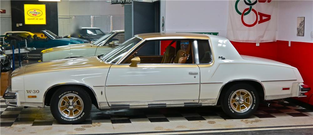 1979 OLDSMOBILE CUTLASS HURST 2 DOOR COUPE - Side Profile - 161488
