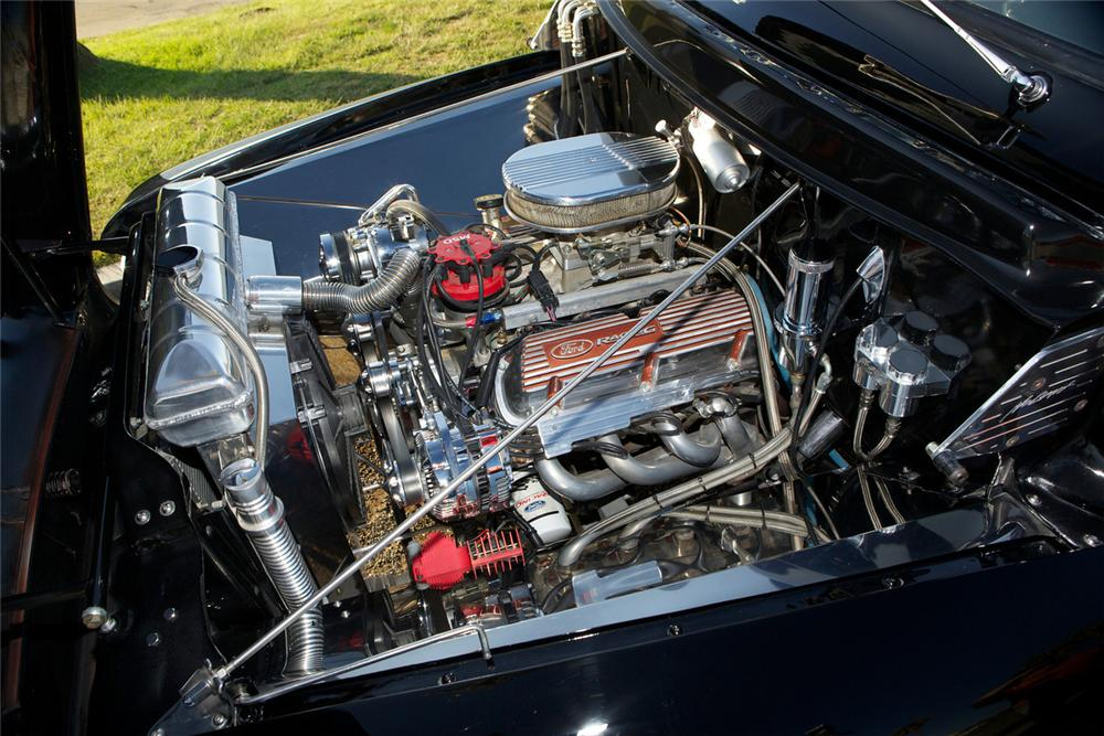 1956 FORD F-100 CUSTOM PICKUP - Engine - 161492