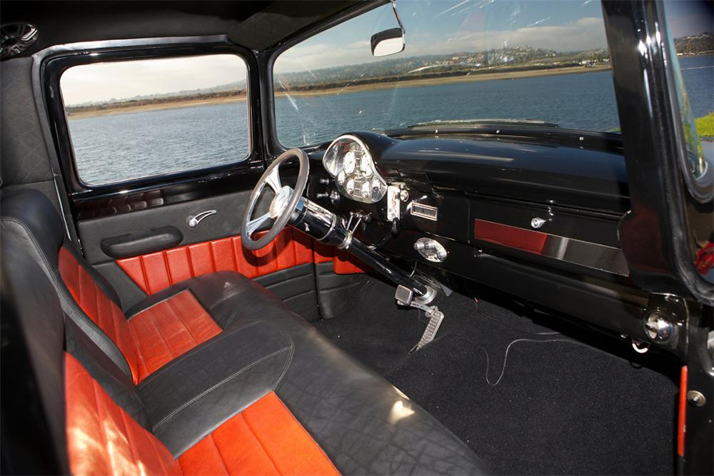 1956 FORD F-100 CUSTOM PICKUP - Interior - 161492