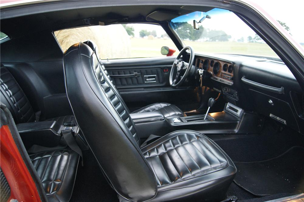1972 PONTIAC FIREBIRD FORMULA 2 DOOR COUPE - Interior - 161494