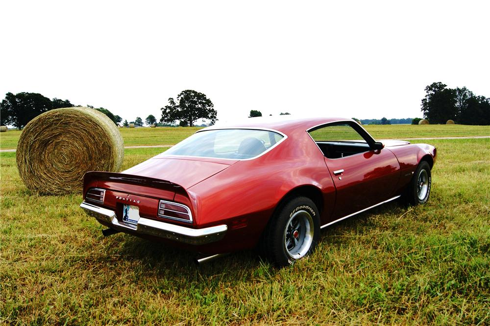 1972 PONTIAC FIREBIRD FORMULA 2 DOOR COUPE - Rear 3/4 - 161494