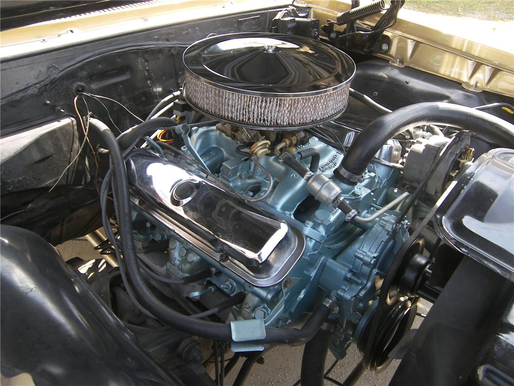 1967 PONTIAC GTO 2 DOOR COUPE - Engine - 161495