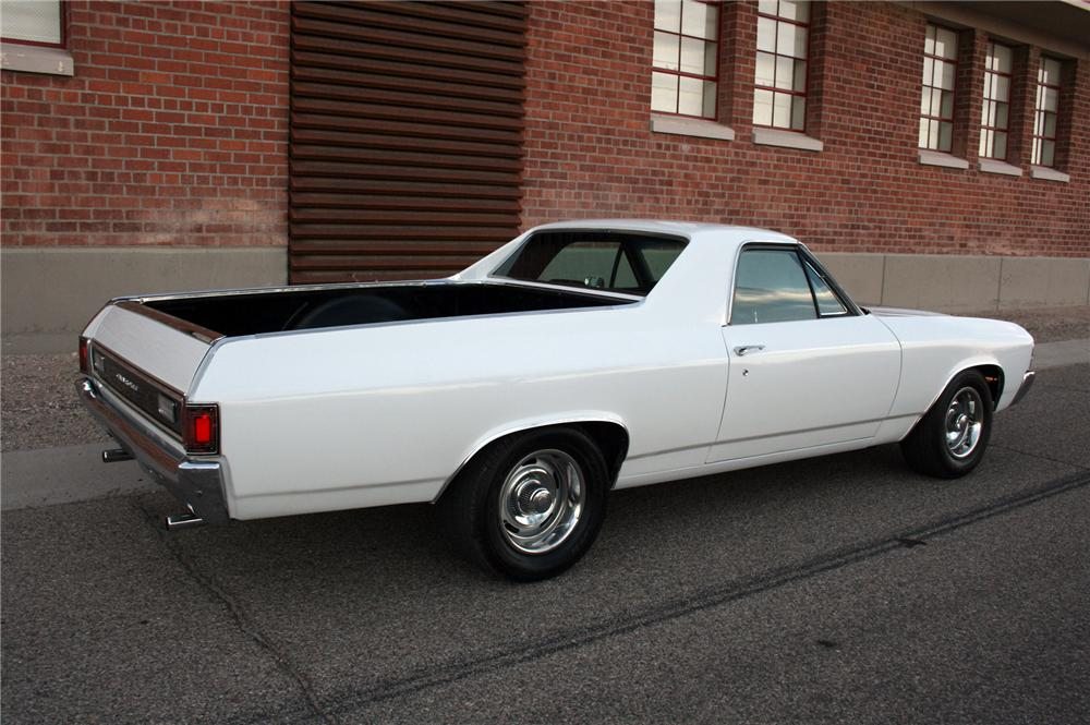 1971 CHEVROLET EL CAMINO PICKUP - Rear 3/4 - 161500