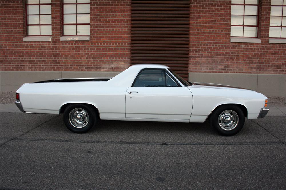 1971 CHEVROLET EL CAMINO PICKUP - Side Profile - 161500