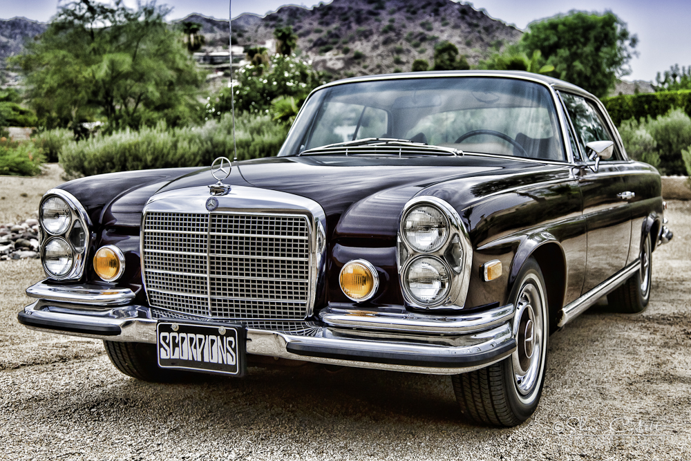 1971 MERCEDES-BENZ 280SE 2 DOOR COUPE - Front 3/4 - 161502