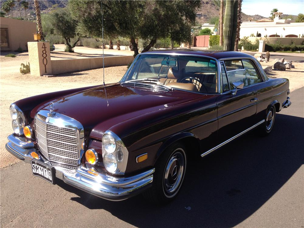 1971 MERCEDES-BENZ 280SE 2 DOOR COUPE - Side Profile - 161502