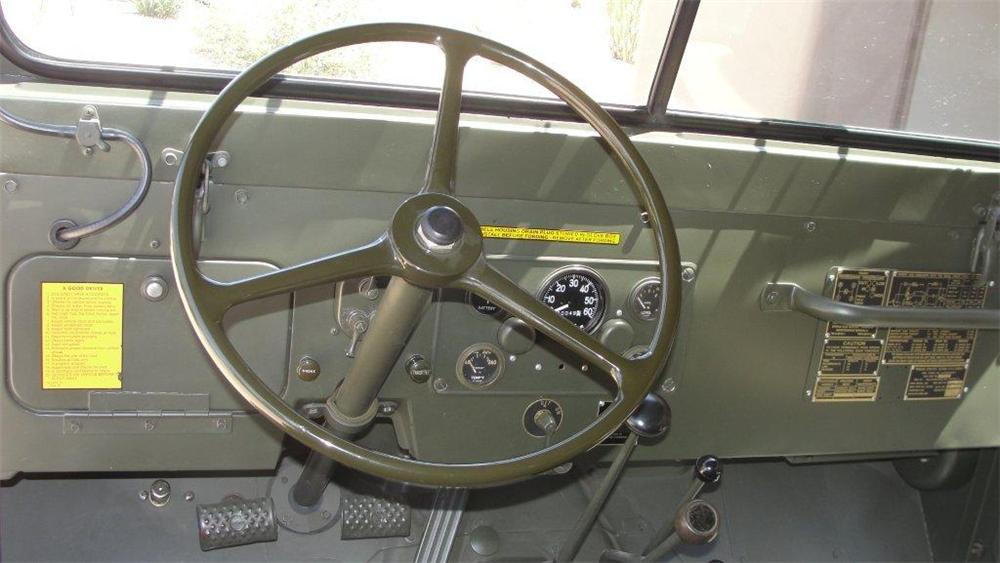 1953 WILLYS MILITARY JEEP  - Interior - 161505