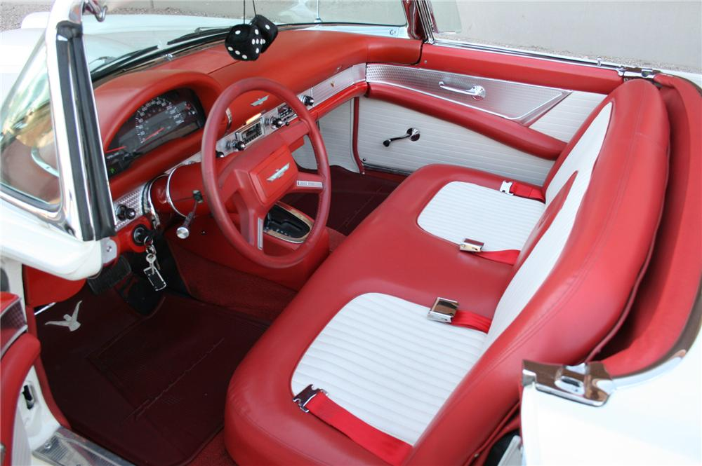 1956 FORD THUNDERBIRD CONVERTIBLE - Interior - 161506