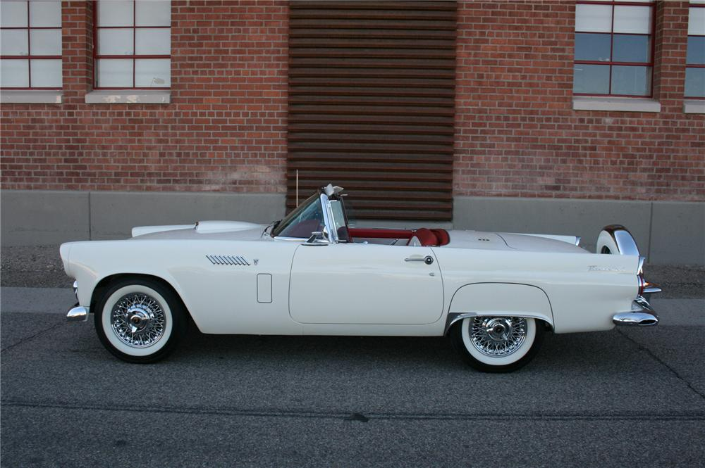 1956 FORD THUNDERBIRD CONVERTIBLE - Side Profile - 161506