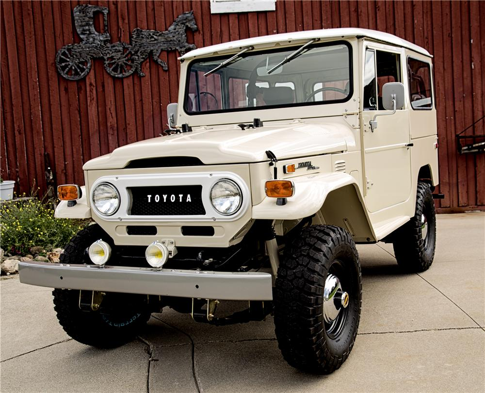 1972 toyota land cruiser fj 40 suv 161507. Black Bedroom Furniture Sets. Home Design Ideas