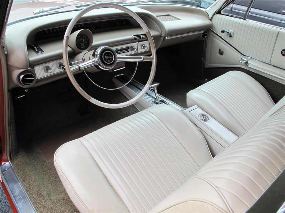1964 CHEVROLET IMPALA 2 DOOR HARDTOP - Interior - 161513