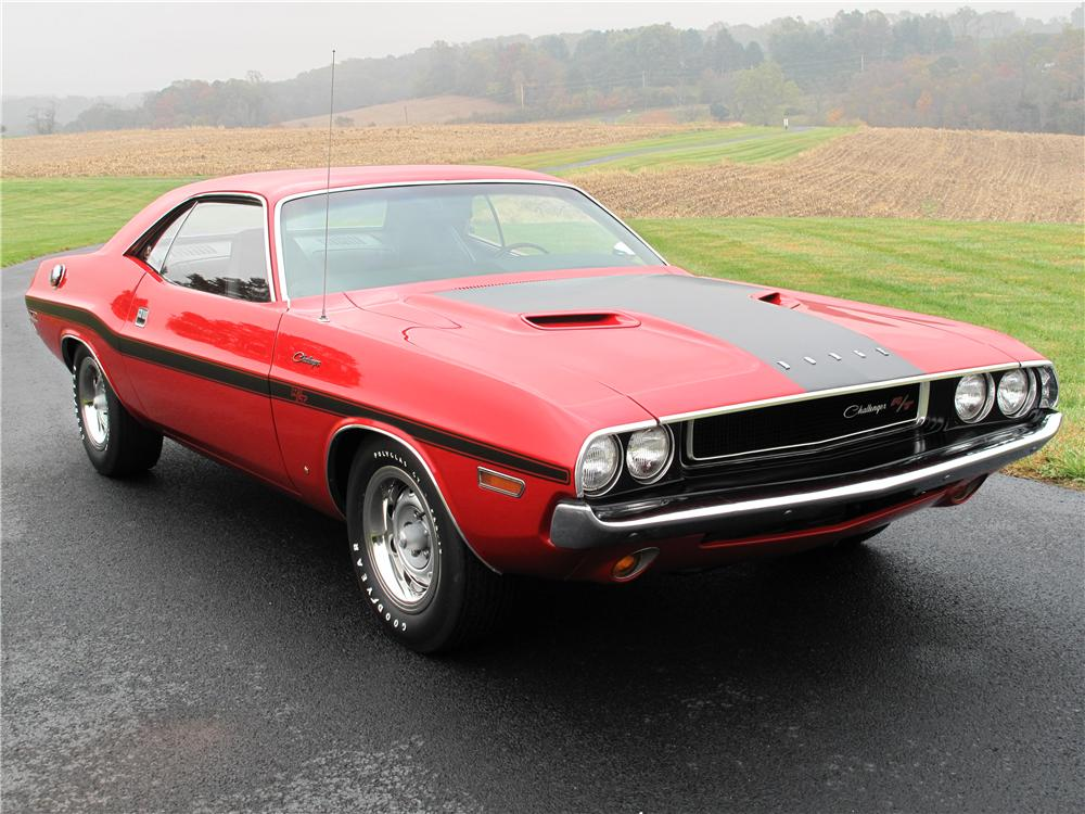 1970 Dodge Challenger Custom 2 Door Hardtop 161515