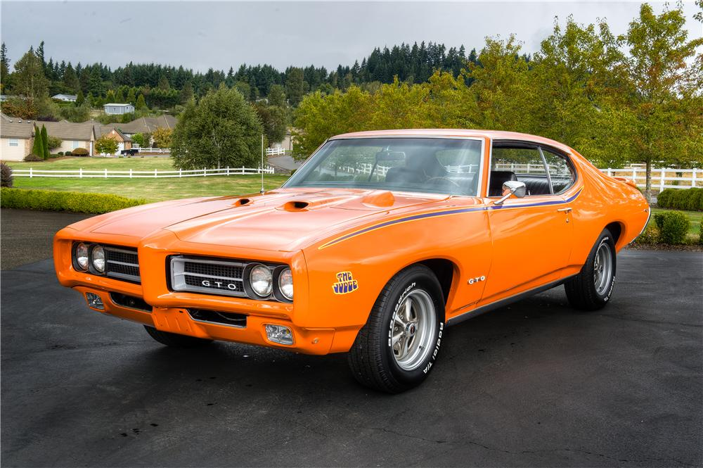 1969 PONTIAC GTO JUDGE 2 DOOR HARDTOP - Front 3/4 - 161522