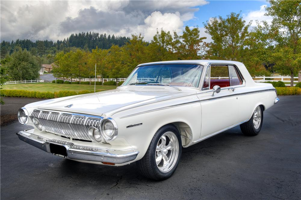 1963 DODGE POLARA CUSTOM 2 DOOR HARDTOP161532