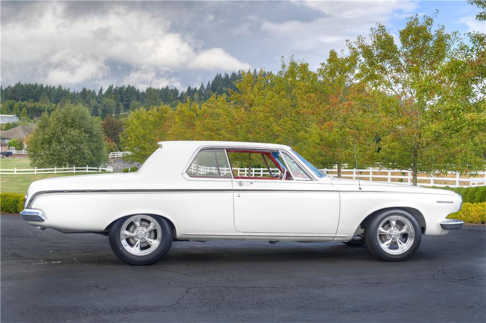 1963 DODGE POLARA CUSTOM 2 DOOR HARDTOP - Side Profile - 161532