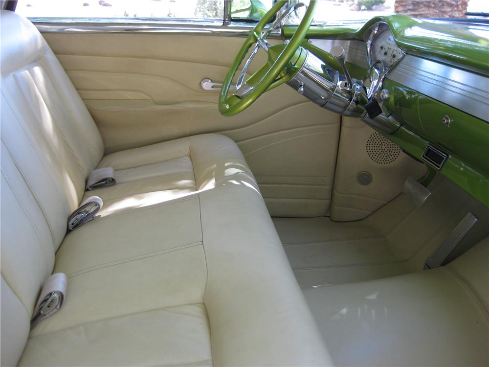 1956 CHEVROLET NOMAD CUSTOM WAGON - Interior - 161534