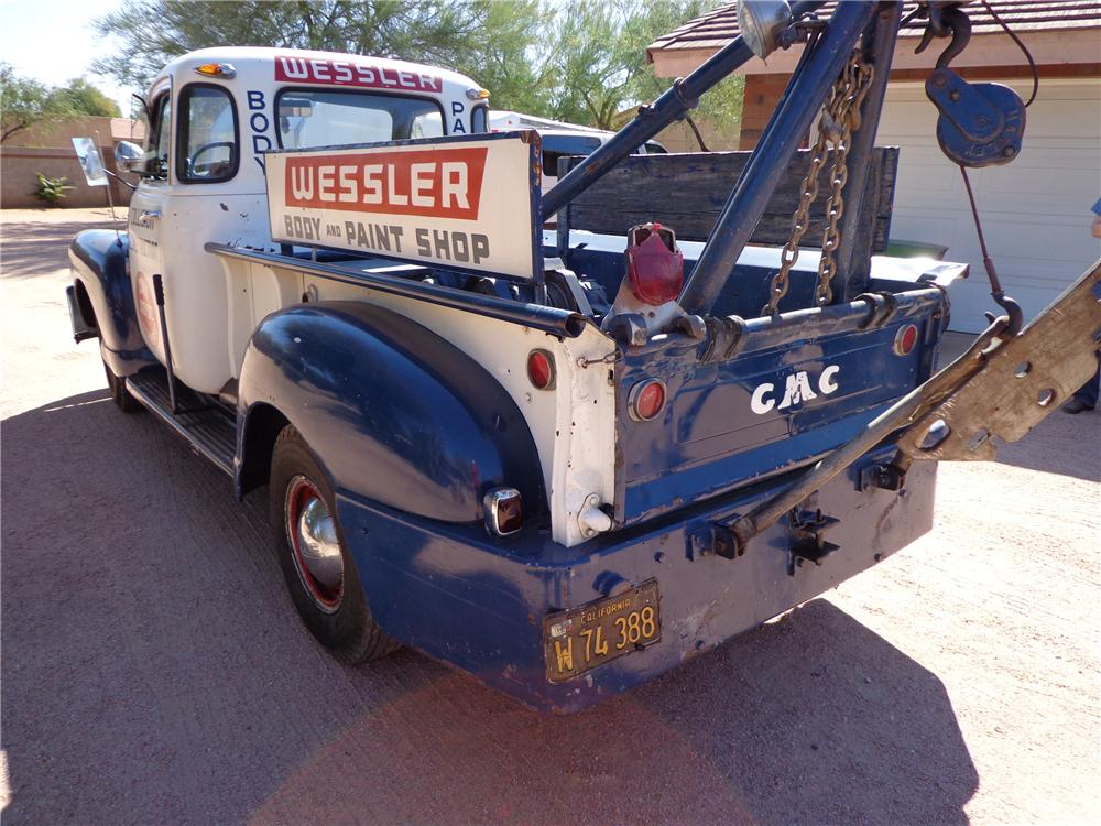 1949 GMC TOW TRUCK - Engine - 161536