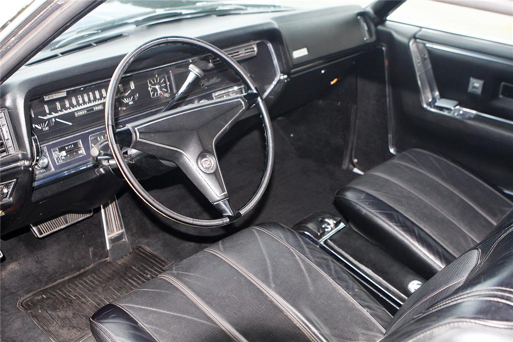 1967 CADILLAC ELDORADO 2 DOOR COUPE - 161539