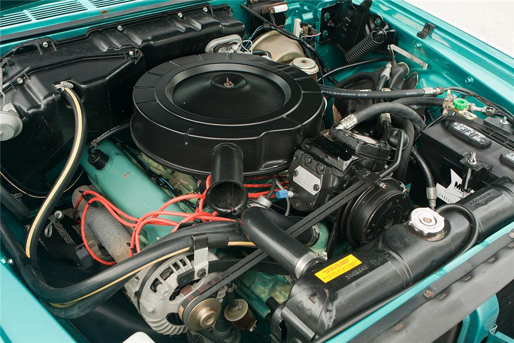 1963 CHRYSLER 300 PACE SETTER CONVERTIBLE - Engine - 161540