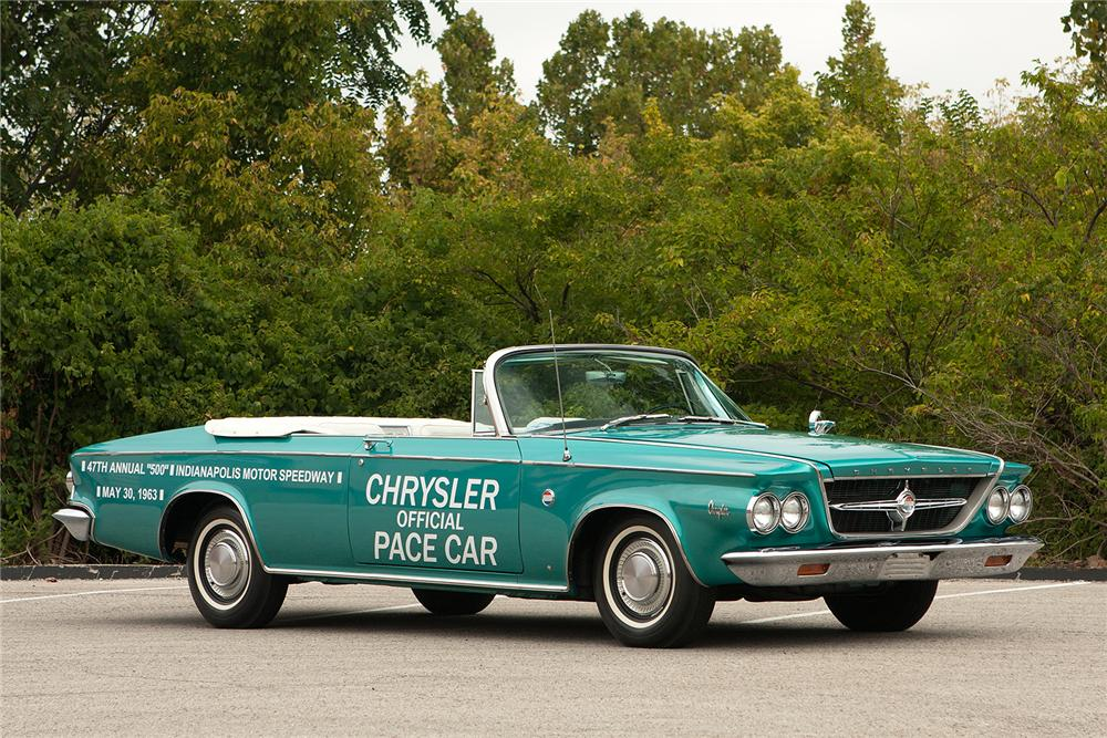 1963 CHRYSLER 300 PACE SETTER CONVERTIBLE - Side Profile - 161540