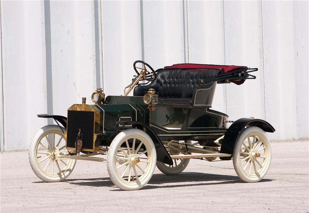 1907 FORD MODEL R ROADSTER - Front 3/4 - 161543