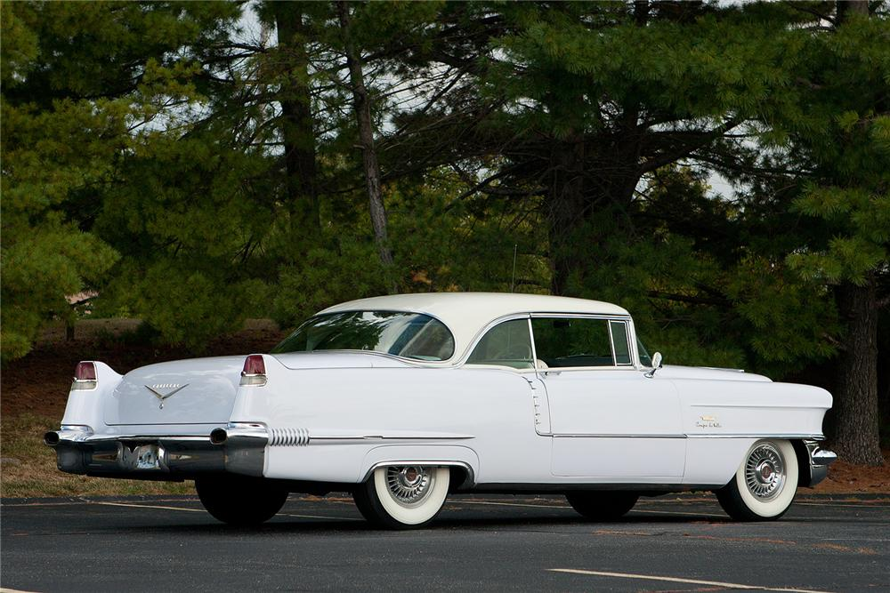 1956 CADILLAC COUPE DE VILLE  - Rear 3/4 - 161546