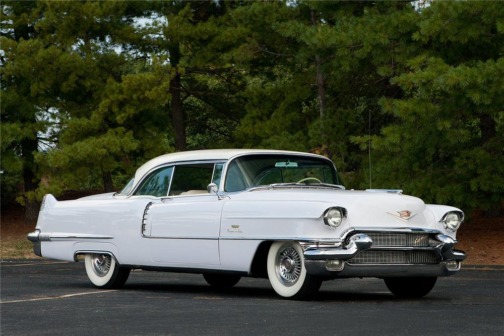 1956 CADILLAC COUPE DE VILLE  - Side Profile - 161546