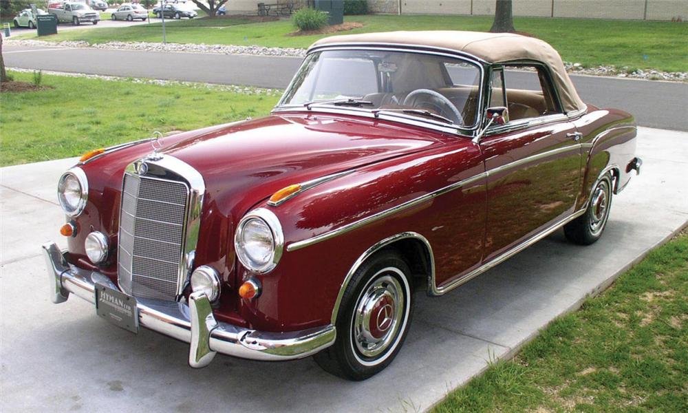 Mercedes Benz Of Palm Beach >> 1960 MERCEDES-BENZ 220SE CONVERTIBLE - 16155