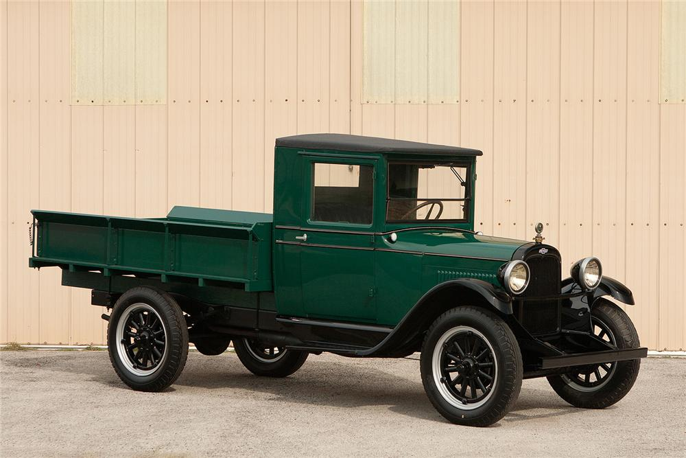 1928 CHEVROLET PICKUP - Front 3/4 - 161550